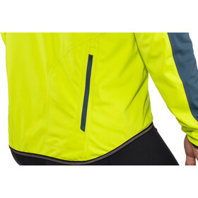GORE WEAR C3 Gore Windstopper Chaqueta Hombre, citrus green/deep water blue